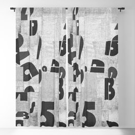Abstract pattern 51 Blackout Curtain