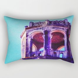 Day Three: Sunset Crown Rectangular Pillow