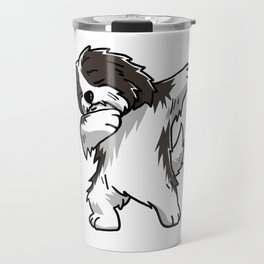 Funny Dabbing Havanese Dog Dab Dance Travel Mug