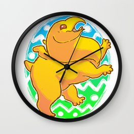 Peep Power!  Wall Clock