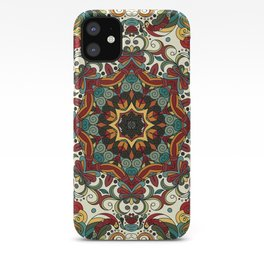 Boho Mandela Pattern 29 iPhone Case