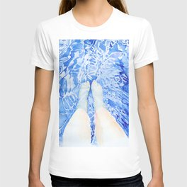 Feet in the pool T-shirt