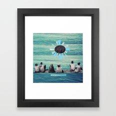 Time to Sail Framed Art Print
