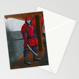 Samurai Crossfit Stationery Cards