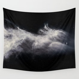 Moon and Clouds Wall Tapestry