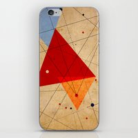 jazzberry iPhone & iPod Skins featuring knot by .eg.