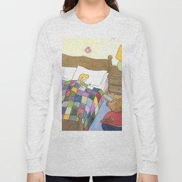 Goldilocks Caught Sleeping Long Sleeve T-shirt