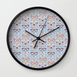 Glasses Wall Clock