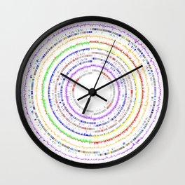 Genome Circles 2 Wall Clock