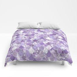 Mermaid Treasure, Purple Jewels Comforters