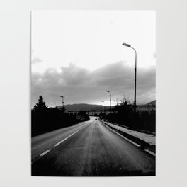 ON THE ROAD, ITALY Poster