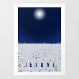 Planet Exploration: Jetune Art Print