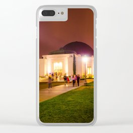 Los Angeles Observatory Clear iPhone Case