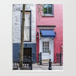 Old Greenwich Village apartment Poster