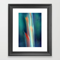 abstract Gladiolus #1 Framed Art Print
