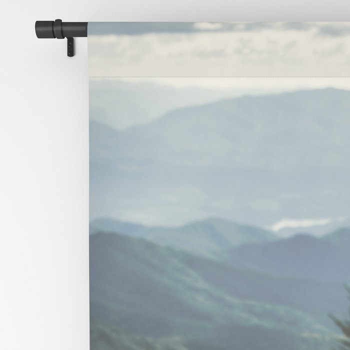 Smoky Mountains - Nature Photography Blackout Curtain