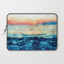 Sea And Sunset Laptop Sleeve