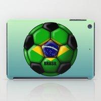brasil iPad Cases featuring Brasil Ball by kuuma