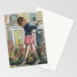 Walking on the Edge Stationery Cards