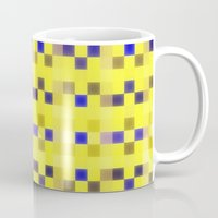 "pixel Mugs featuring ""Pixel"" by Mr and Mrs Quirynen"