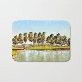 Sawgrass TPC Golf Course 17th Hole Bath Mat
