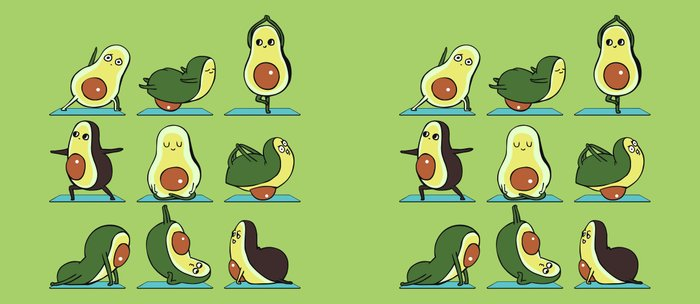 Avocado Yoga Kaffeebecher