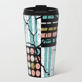 Distressed pattern Travel Mug