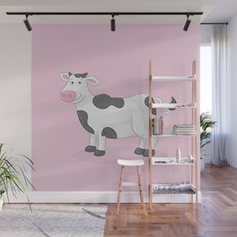 Cow Wall Mural