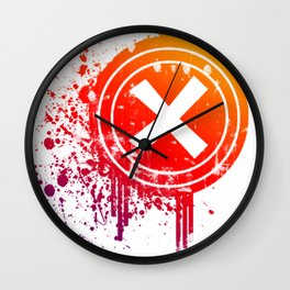 X vector Wall Clock