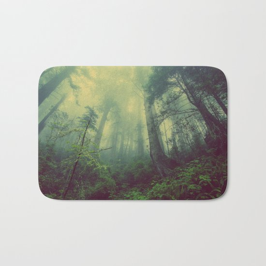 Eerie Wilderness Bath Mat