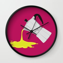 Alien Moka Wall Clock