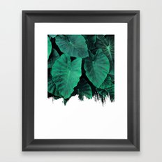 Painting on Jungle Framed Art Print