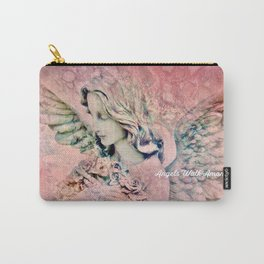 """""""Angels Walk Among Us"""" Carry-All Pouch"""