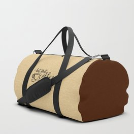 But First Coffee Funny Quote Duffle Bag