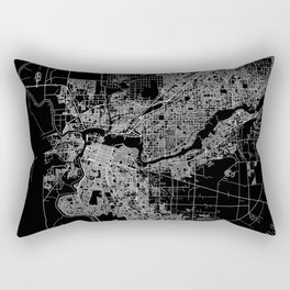 sacramento map Rectangular Pillow