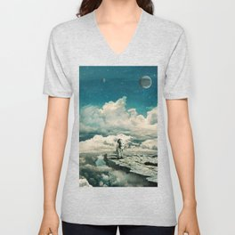 The explorer Unisex V-Neck