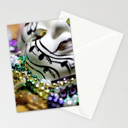 Mardi Gras I Stationery Cards