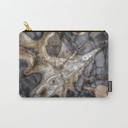 Petrified wood 3266 Carry-All Pouch