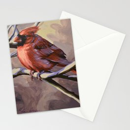 Northern Cardinal 7 Stationery Cards