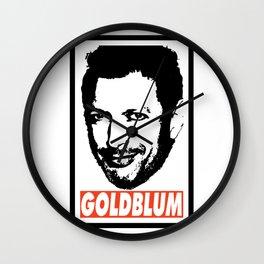 Goldblum Wall Clock