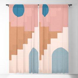 Minimal Abstract 17 Blackout Curtain