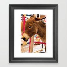 Donkey II Framed Art Print