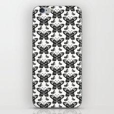 Butterfly pattern iPhone & iPod Skin
