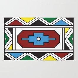 Ndebele Print Rug