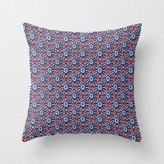 Bright and Bold Stars Throw Pillow