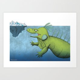 Big Mo – Iceberg Art Print