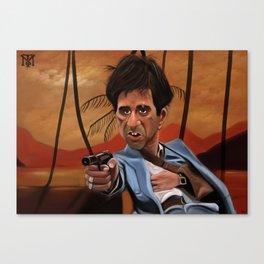 Scar Face | Tony Montana Canvas Print