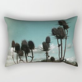 Prickly Teasels  Rectangular Pillow