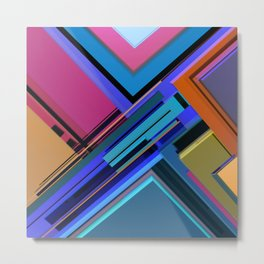 Abstract Composition 611 Metal Print