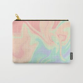 abstract rainbow gradient blurry background Carry-All Pouch